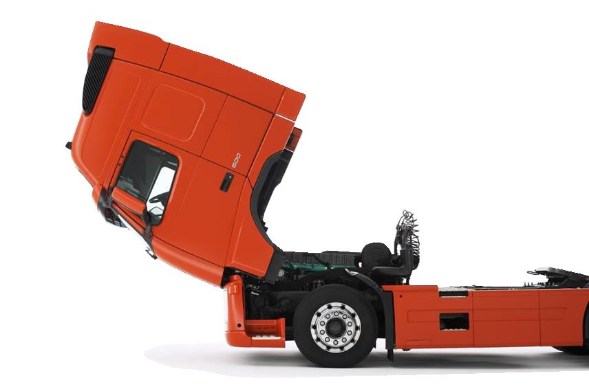 Cab tilting